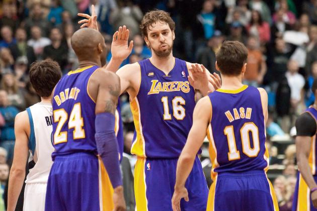 Early Predictions for LA Lakers' Starting 5 Next Season