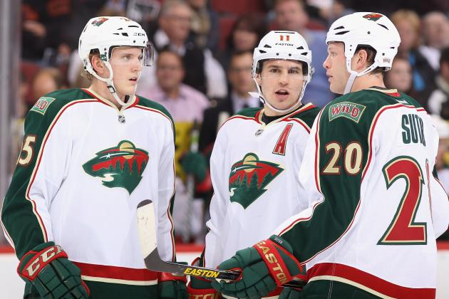 Early Projection for Minnesota Wild' 2013-14 Depth Chart