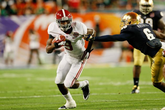 Alabama Football: Over/Under Stat Projections for Amari Cooper in 2013