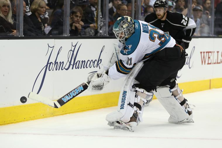 Projecting Goalies, Blue Line Pairs for 2013-14 San Jose Sharks