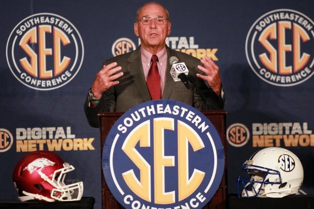 Reliving Best Moments from 2012 SEC Media Days