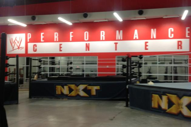 A Look Inside WWE's New Performance Center