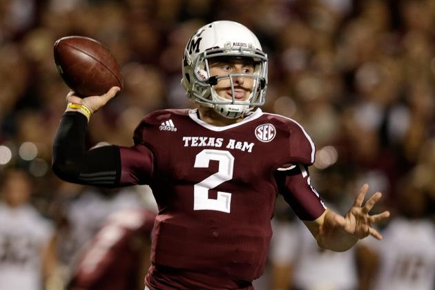 NFL Comparisons for Every SEC Football 2013 Starting QB