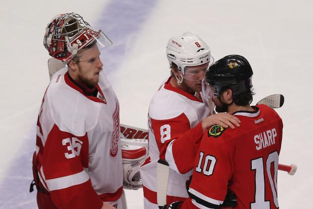 Detroit Red Wings: An Early Look at the 2013-14 Depth Chart
