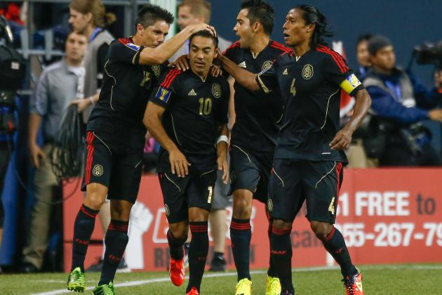 Mexico Winners and Losers at the Gold Cup So Far