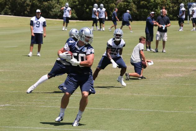 Full Training Camp Roster Breakdown for Dallas Cowboys