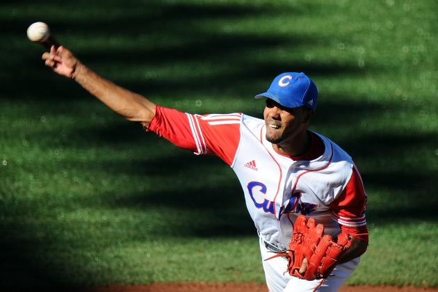 Top 5 Suitors for Cuban Phenom Pitcher Miguel Alfredo Gonzalez