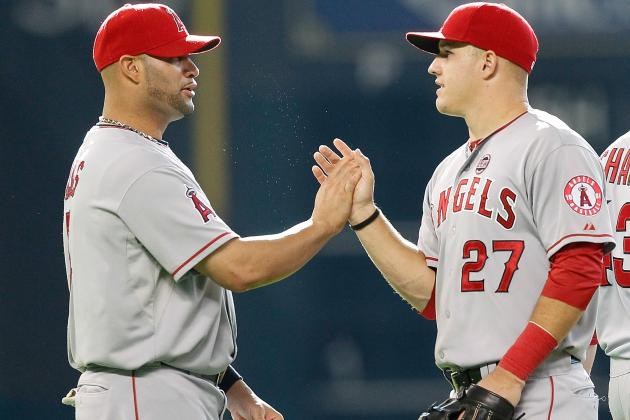 Hottest and Coldest Angels Players Heading into the Second Half