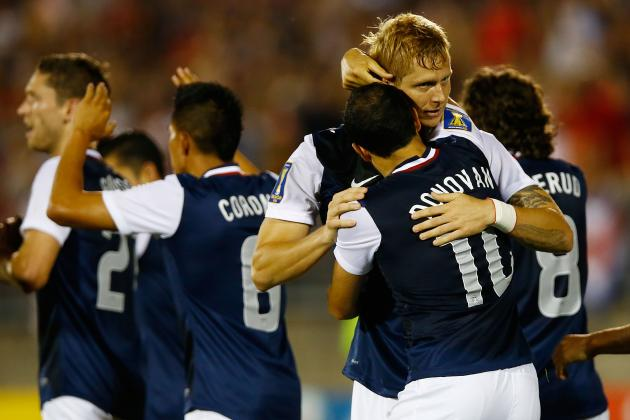 2013 CONCACAF Gold Cup: Ranking the Teams in the Knockout Round