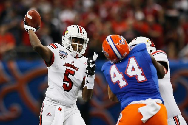 Previewing the Top 25 Quarterbacks for the 2014 NFL Draft