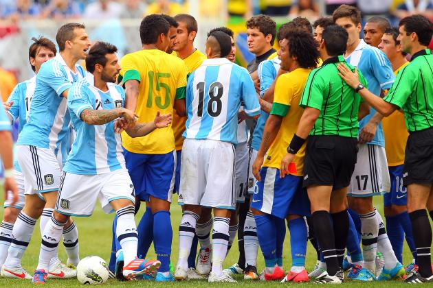 Picking a Brazil and Argentina Combined Best XI