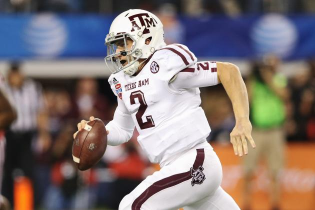 Johnny Manziel and Top Contenders Named to 2013 Davey O'Brien Award Watch List