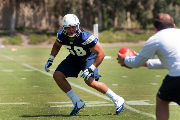 Rookie, Undrafted Free Agent Watch for San Diego Chargers' Training Camp