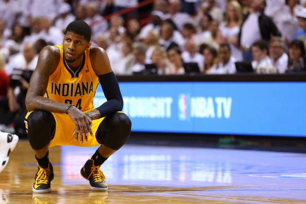 Paul George Previews 2013-14 Indiana Pacers and Dishes on Andrew Wiggins