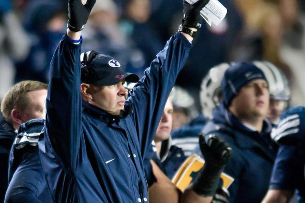 BYU Football: Ranking Bronco Mendenhall's 5 Biggest Wins as a Cougar