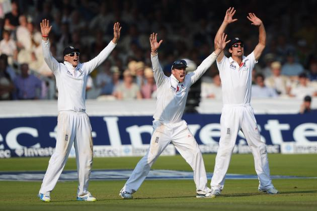 England vs. Australia: Scores and Session Recaps for Ashes 2013 Second Test