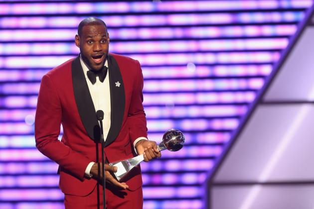 ESPY 2013 Winners: Ranking the Most Deserving Athletes Who Took Home Hardware