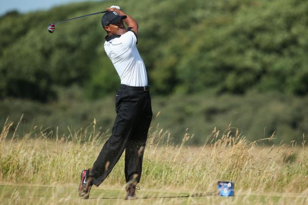 Tiger Woods at British Open 2013: Round 1 Performance Grades at Muirfield