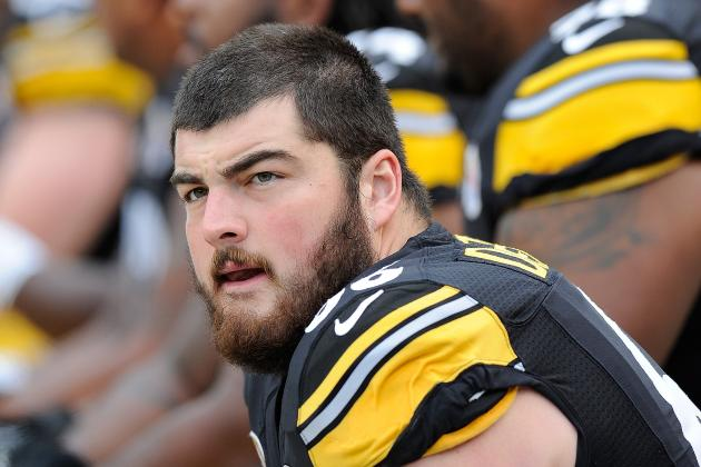 Pittsburgh Steelers 2013 Training Camp Preview: Offensive Line