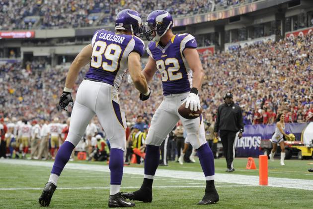 Power Ranking the 5 Greatest Tight Ends in Minnesota Vikings History