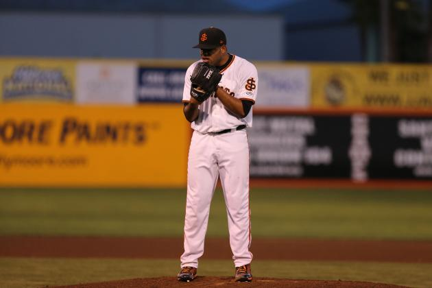 San Francisco Giants: Stock Up, Stock Down for Top 10 Prospects for Week 16