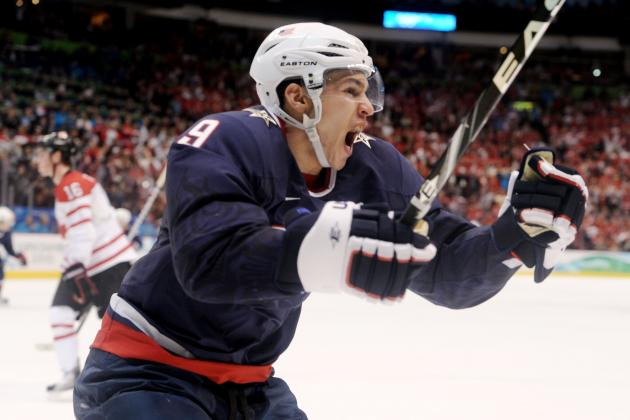 Which 2014 Olympic Hockey Team Has the Best Projected Top Line?