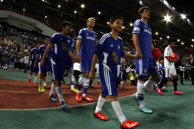 Chelsea Winners and Losers vs. Malaysia XI