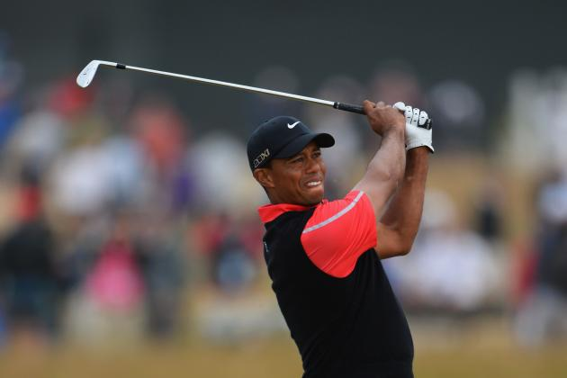 Tiger Woods at British Open 2013: Complete Performance Grades at Muirfield