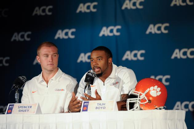 ACC Media Days 2013: Winners and Losers of Day 1