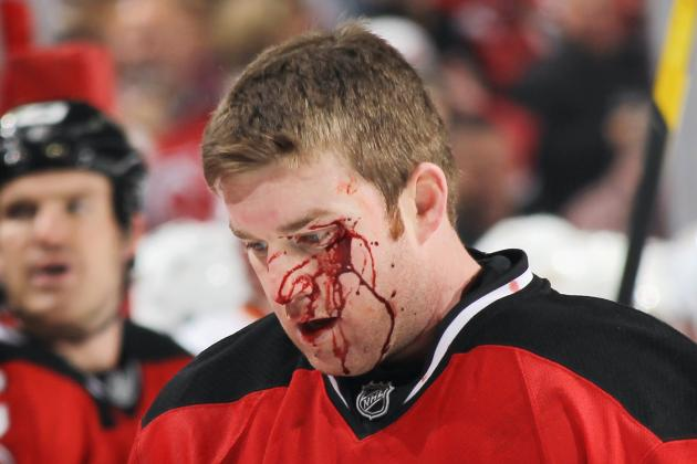The 10 Most Brutal Moments in NHL History