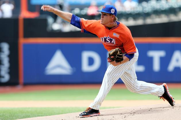 Stock Up, Stock Down for Mets' Top 10 Prospects for Week 16