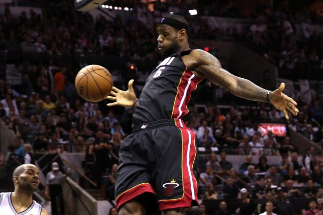 Top 15 Dunks of LeBron James' Miami Heat Tenure