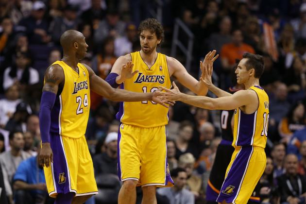 Best-Case, Worst-Case Scenarios for Every LA Lakers Starter in 2013-14