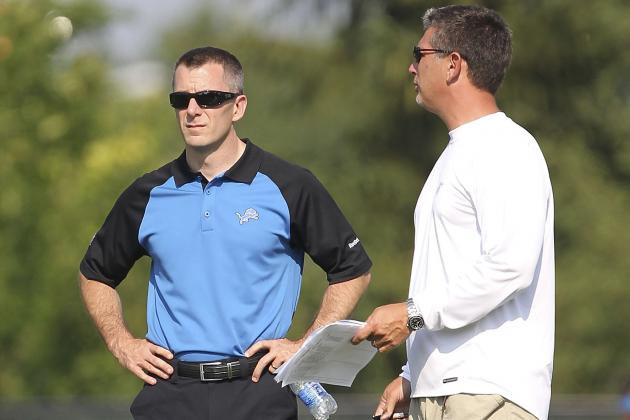 Breaking Down the Lions' 2-Deep Depth Chart at the Start of Training Camp