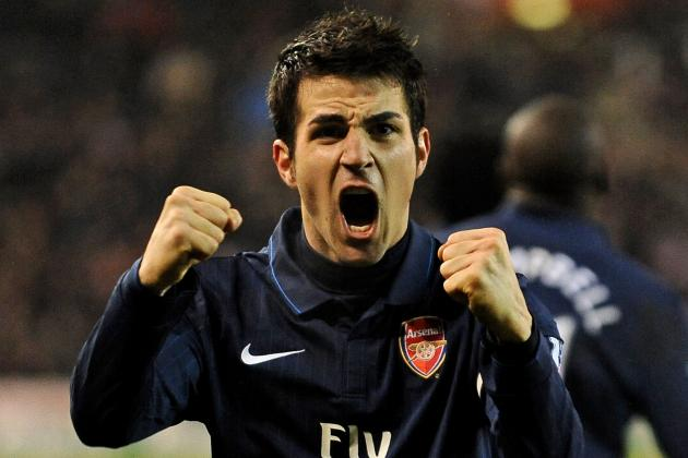 Remembering Cesc Fabregas' Best Premier League Moments