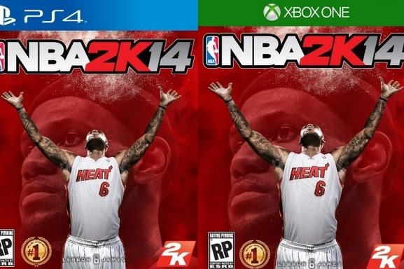 Ranking LeBron James' NBA 2K14 Cover with Each in NBA 2K Series