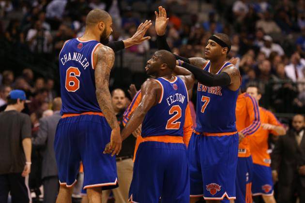 Ranking Best and Worst Starting Lineups for New-Look NY Knicks