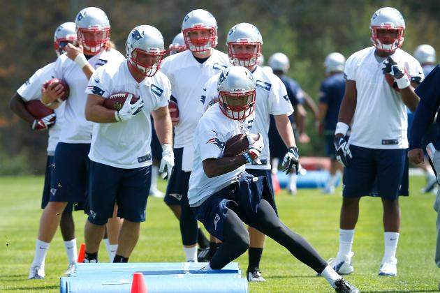 Forecasting the New England Patriots' Depth Chart at WR