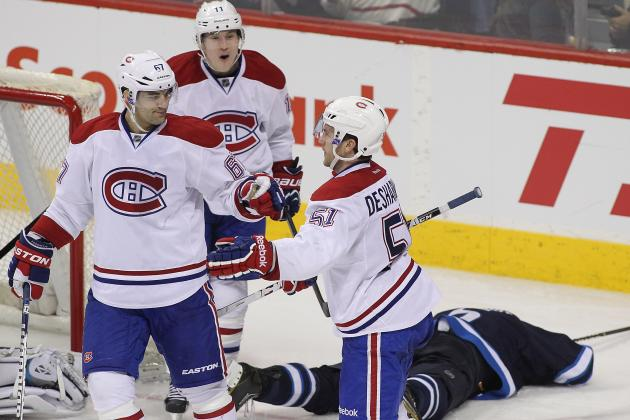 Power Ranking Montreal Canadiens' Top 6 Forwards