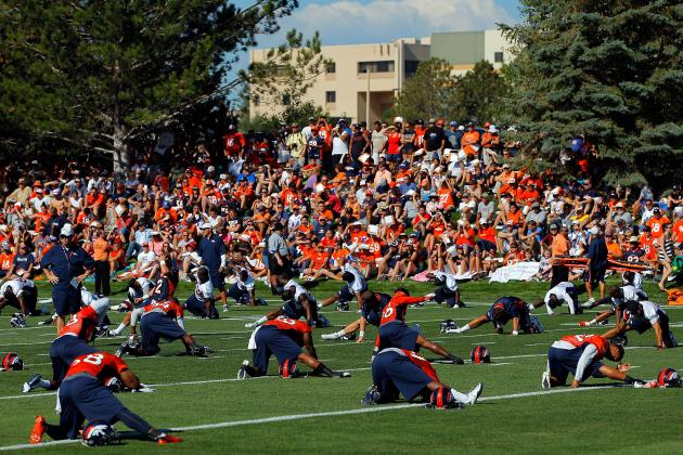 Breaking Down Denver Broncos' Two-Deep Depth Chart at Start of Training Camp