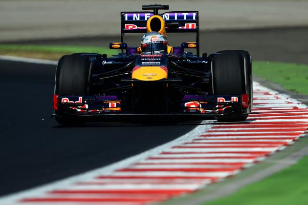 Hungarian Grand Prix 2013: Results and Times for Practice and Qualifying Races