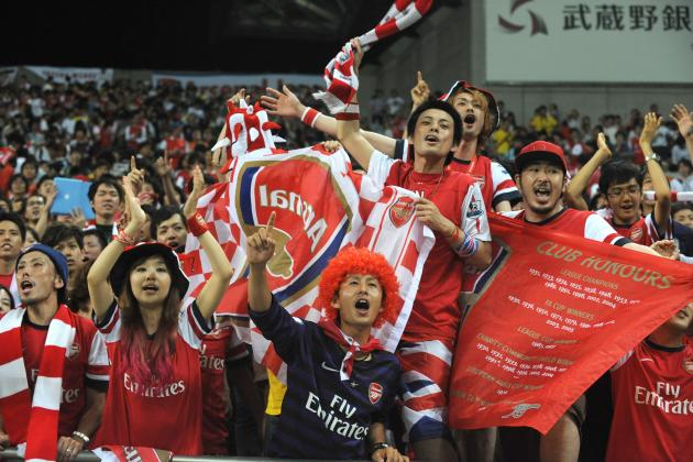 Arsenal vs. Urawa Reds: 5 Things We Learned