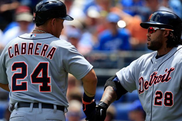 Ranking Miguel Cabrera-Prince Fielder Among Best 3-4 Combos in MLB Today