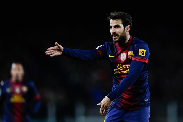Summer Transfer Gossip: Cesc Fabregas, Davide Astori, Gareth Bale and More
