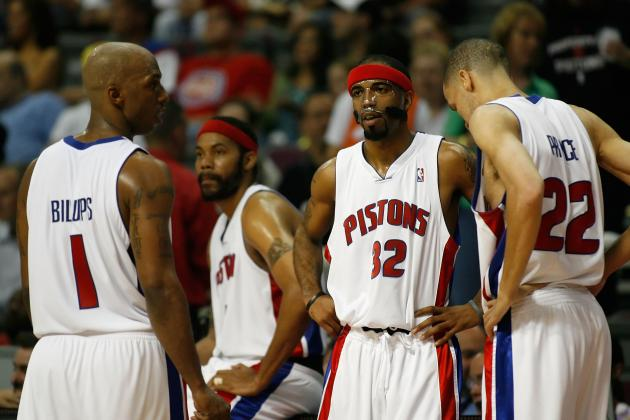 Ranking the Top 25 Players in Detroit Pistons History