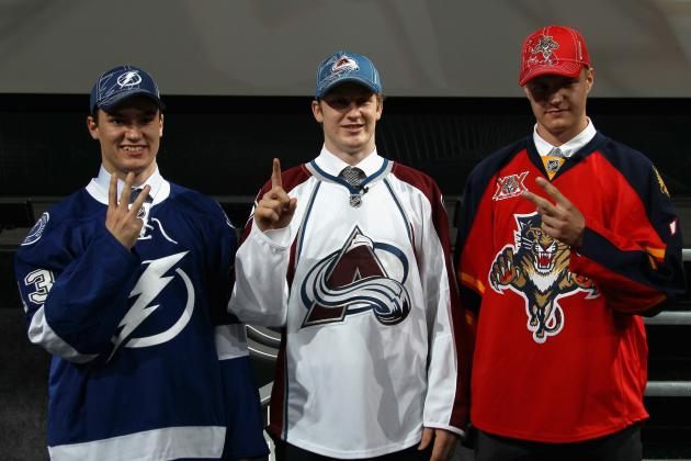 Breaking Down the Ceiling for Every NHL Team's Top Prospect