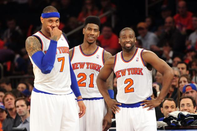 Ranking Potential NY Knicks Starting Lineups for 2013-14 Season