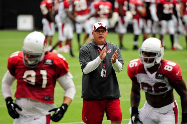 Examining Arizona Cardinals' Offseason and Key Preseason Positional Battles