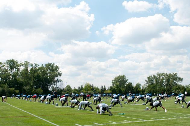 Detroit Lions Training Camp Photo Gallery