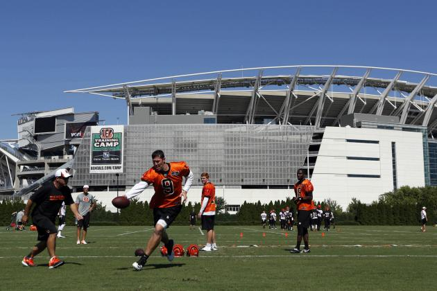 Cincinnati Bengals Training Camp Photo Gallery